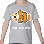 Mockup Toddler Animals – Clownfish – Your Beach Name