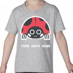Mockup Toddler Animals – Lady Bug – Your Beach Name