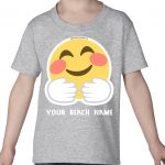 Mockup Toddler Face – Hugging – Your Beach Name
