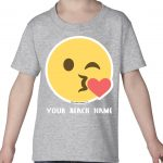 Mockup Toddler Face – Kiss Heart – Your Beach Name