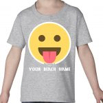Mockup Toddler Face – Sticking out tong – Your Beach Name