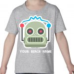 Mockup Toddler Other – Robot Face – Your Beach Name