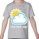 Mockup Toddler Other – Sun and Clouds – Your Beach Name
