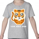 Mockup Toddler Pets – Tiger – Your Beach Name