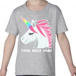 Mockup Toddler Pets – Unicorn – Your Beach Name
