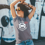 Mockup -Unisex Slow the BEEP DOWN – Your Street and Beach Name