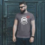 Mockup -Unisex Slow the BEEP DOWN – Your Street and Beach Name 2