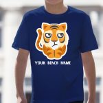 Mockup Youth Pets – Tiger – Your Beach Name