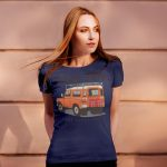 Mockup – OLD TRUCK DRIVING AWAY